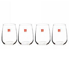 Set de vasos cristal 6 unidades