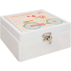 Caja decorativa 6,5x13x13 cm MDF