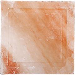 Tabla para cocinar de sal rosada del Himalaya