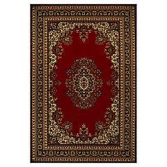 Alfombra bcf roja Clásica 120x170 cm