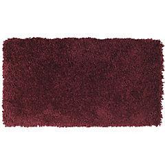 Alfombra Grand Shag roja 60x110 cm