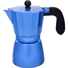 Cafetera inducción de 500 ml azul