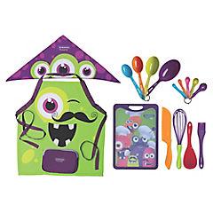 Kit de cocina infantil polipropileno 16 piezas