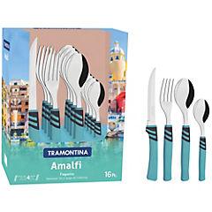 Set 16 piezas Amalfi turquesa