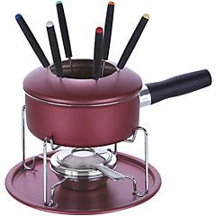 Juego fondue acero inoxidable 19 cm Paris