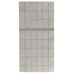 Placa fibrocemento 6mm x120x240 cm marmolado beige
