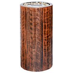 Fogón a etanol madera