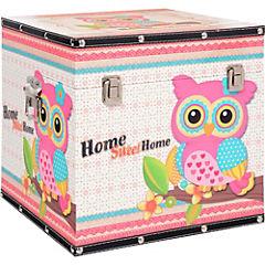 Caja decorativa 30x30x30 cm madera
