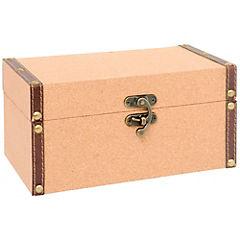 Caja decorativa 14x25x12 cm madera