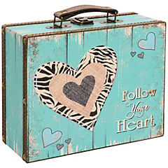 Maleta Corazón Pastel 25x20x10 cm