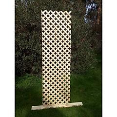 Cerco de malla de madera 60x200 cm Natural