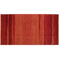 Alfombra Ocean 80x150 cm rojo