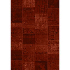 Alfombra Cosy Rojo Design 200x290 cm
