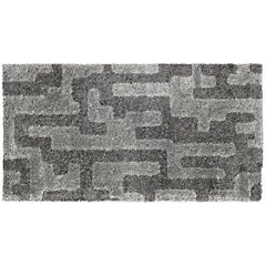 Alfombra Noblese Cosy gris 80x150 cm