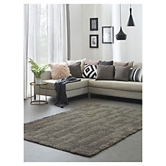 Alfombra Noblese Cosy gris 120x170 cm