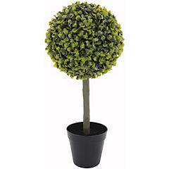 Topiary melón artificial 47 cm con macetero