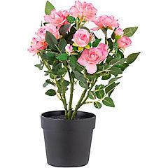 Rosa artificial 21x28 cm Lila