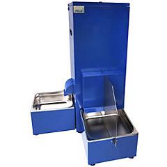 Dispensador automático de agua y comida para perro Azul