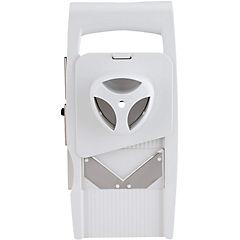 Rallador multipropósito 7x13x33 cm acero Blanco