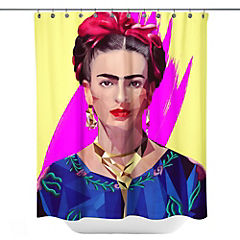 Cortina de baño Modern Frida Artista de México
