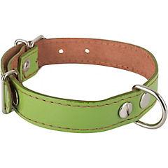 Collar de suela con costura de 50 x 2,5 cm, color verde
