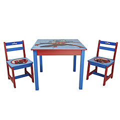 Set infantil mesa con dos sillas Spiderman