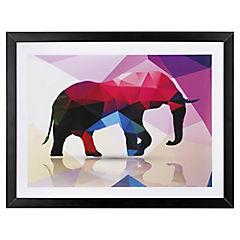 Lámina enmarcada 40x30 cm Elephant