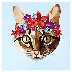 Canvas decorativo Frida Cat 50x50 cm