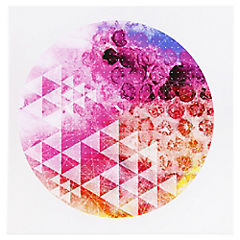 Canvas decorativo Pink Moon 60x60 cm