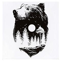 Canvas decorativo Bear Moon 60x60 cm