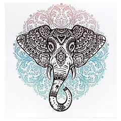 Canvas decorativo Pasley Elephant 70x70 cm