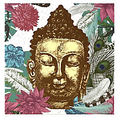 Canvas decorativo Buda 70x70 cm