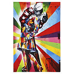Canvas decorativo The Kiss 60x90 cm