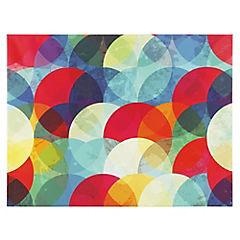 Canvas 100x75 cm Color Circles