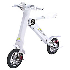 Smart scooter eléctrica blanca