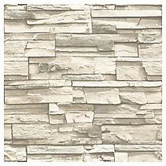 Láminas autoadhesivas Reutilizables piedra laja 52x503 cm