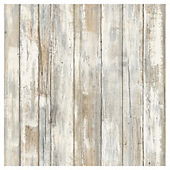 Papel mural autoadhesivo madera tratada 52x503 cm