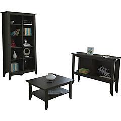 Librero+arrimo+mesa de centro Essential wen