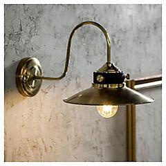 Lámpara aplique de Bronce