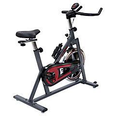 Bicicleta estática mecánica rojo