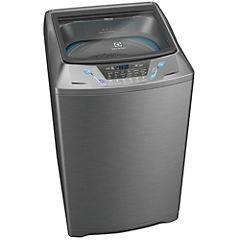 Lavadora superior 16 kg gris