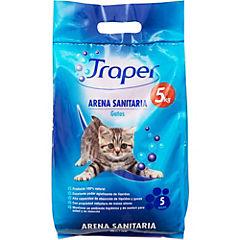 Arena sanitaria para gatos 5 kilos
