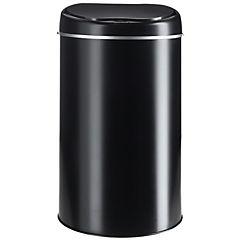 Papelero con sensor 6 L negro
