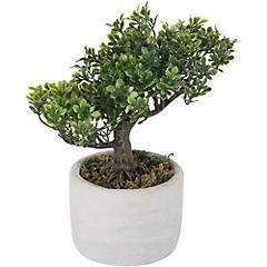 Planta artificial bonsái en maceta 20,3 cm