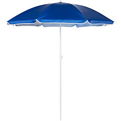 Quitasol de playa 1,8 m UV+50 azul