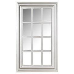 Espejo rectangular forma de ventana 43,5x74 cm