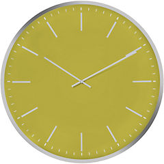Reloj mural 40 cm limón