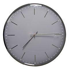 Reloj 40 cm Ostra gris