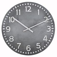 Reloj mural 76 cm café