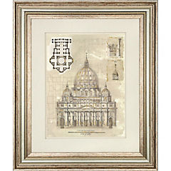 Cuadro Catedral st.peters 65x55 cm